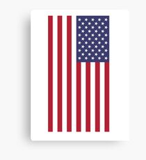USA - American Flag - Cell Phone Cover Canvas Print
