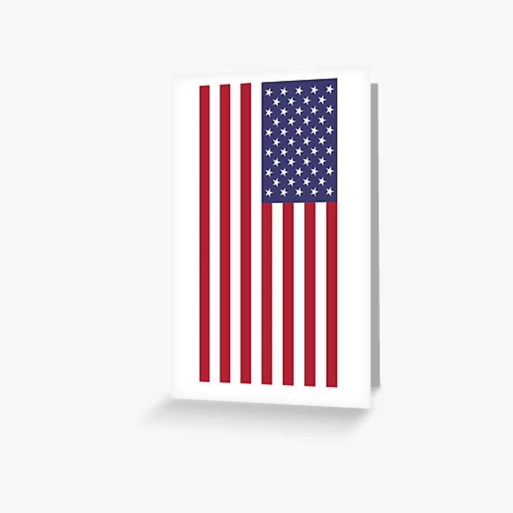 USA - bandera americana - cubierta del teléfono celular Tarjetas de felicitación