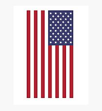 USA - American Flag - Cell Phone Cover Photographic Print