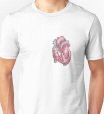 Anatomical Heart Drawing T-Shirt