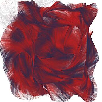 Remolino rojo y azul de NoraMohammed