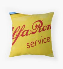 Service Time Throw Pillow