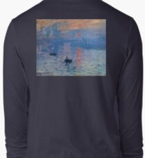 CLAUDE MONET, Impression, sunrise, Long Sleeve T-Shirt
