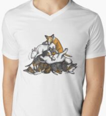 Sleeping Pile of Bull Terriers T-Shirt