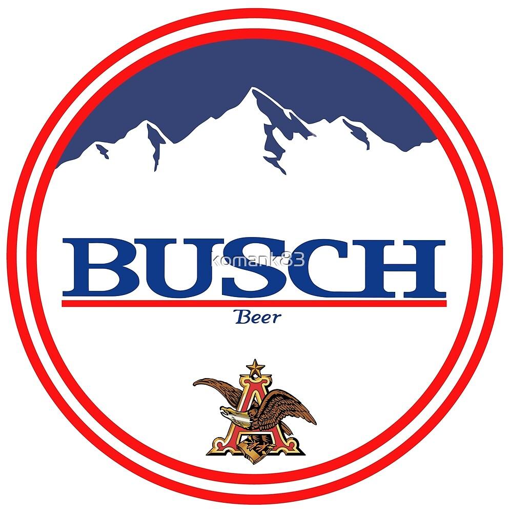 Buschlicht, Buschlicht, Busch, Bier, Getränk, Berg, Kneipe, Logo ...