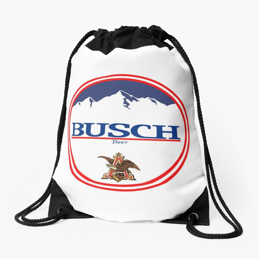 Buschlicht, Buschlicht, Busch, Bier, Getränk, Berg, Kneipe, Logo, Symbol. Turnbeutel
