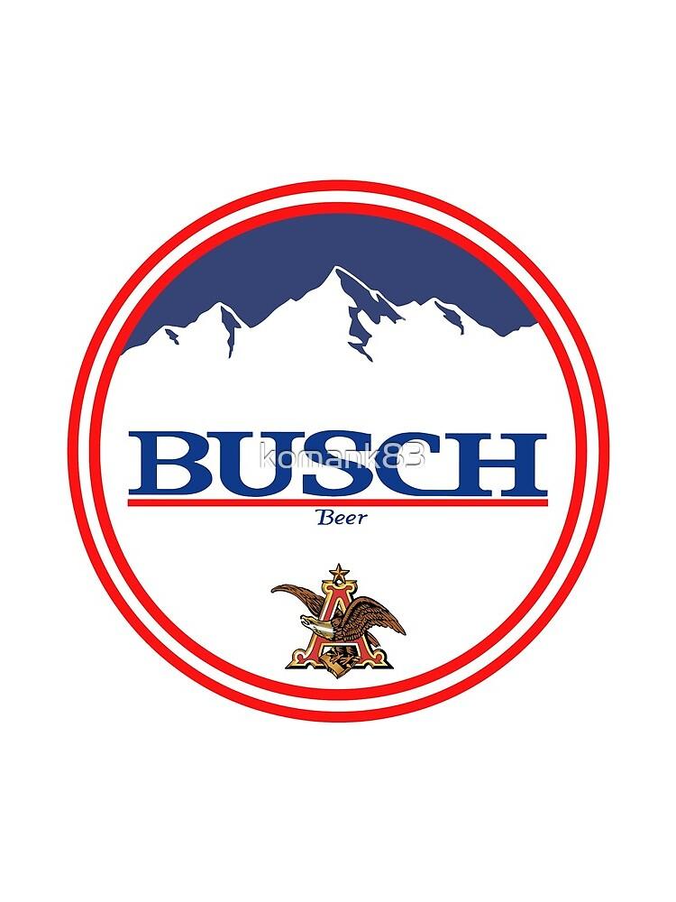 Buschlicht, Buschlicht, Busch, Bier, Getränk, Berg, Kneipe, Logo, Symbol. von komank83