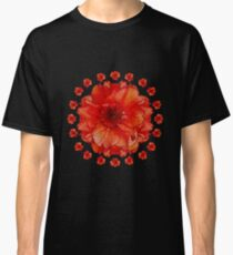 Poppy Field Mandala Classic T-Shirt