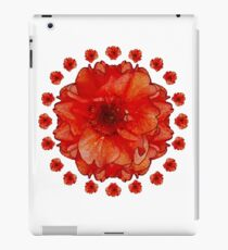 Poppy Field Mandala iPad Case/Skin