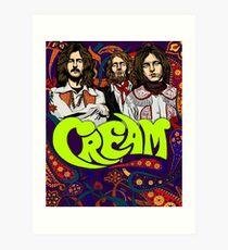 Cream Band, Clapton Art Print