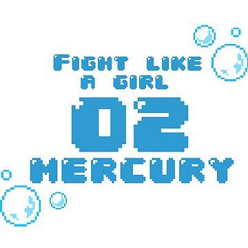 Fight Like A Girl - Mercury by OkayDesigns