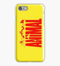 animal, fitness, muscle, strong, bodybuilding, logo, symbol, nutrition, vitamin, booster, barbell, club. iPhone Case/Skin