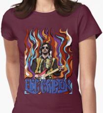Camiseta entallada para mujer Eric Clapton