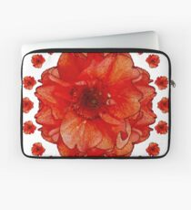 Poppy Field Mandala Laptop Sleeve