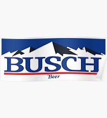 9606c537cd busch, buschlight, beer, drink, thin, mountain. Poster