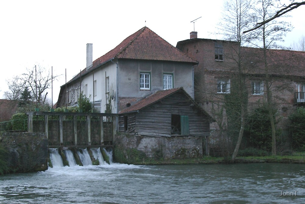 French water Mill by JohnT