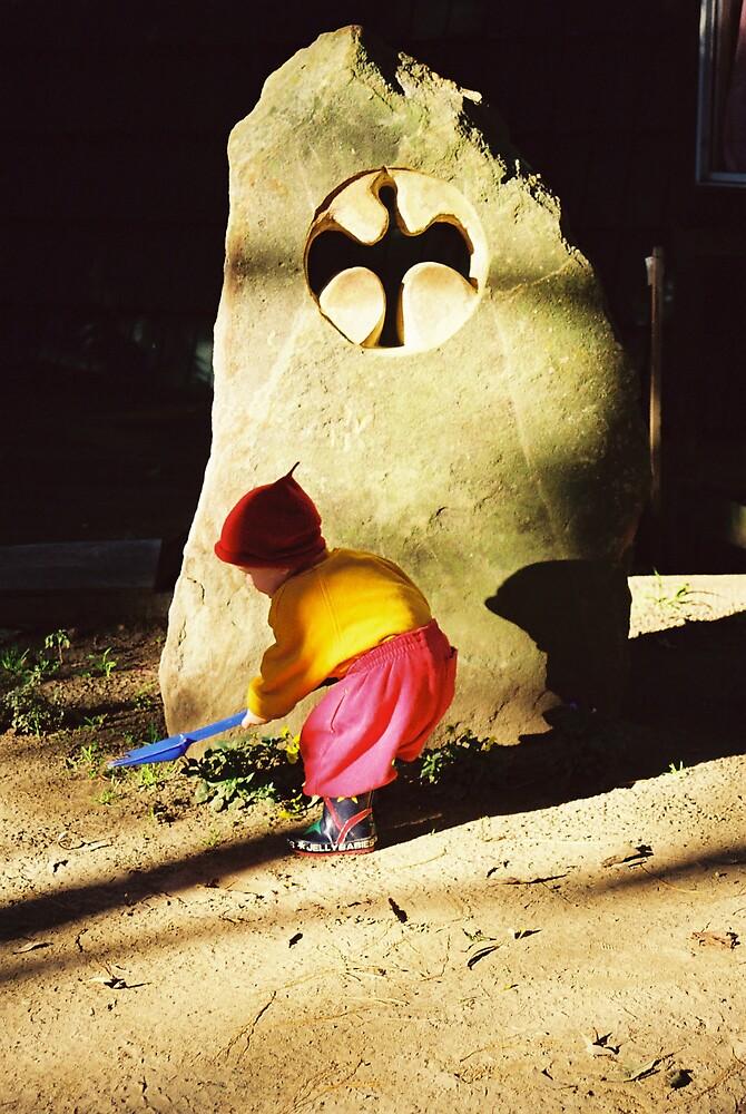 Gnomes Work by Stuart Rushton