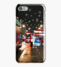 Oxford Circus, traffic light iPhone Case/Skin