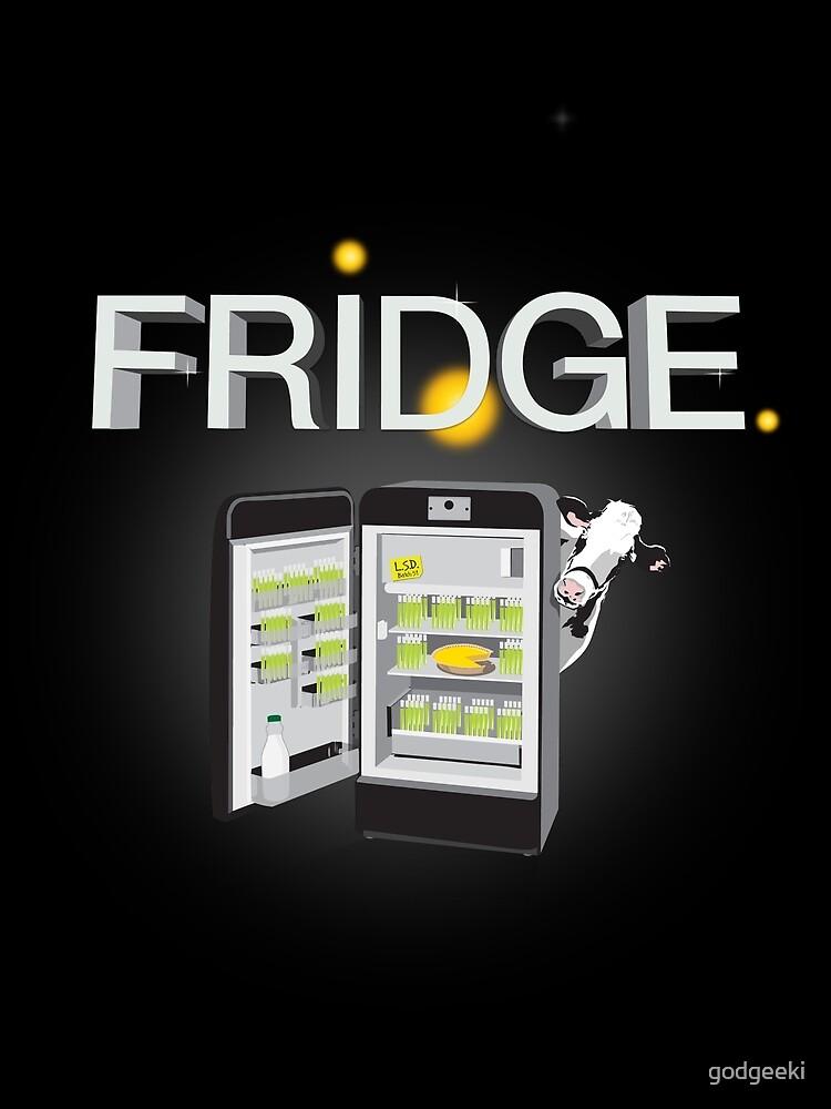 'FriDge'...The Appliance of Science! by godgeeki