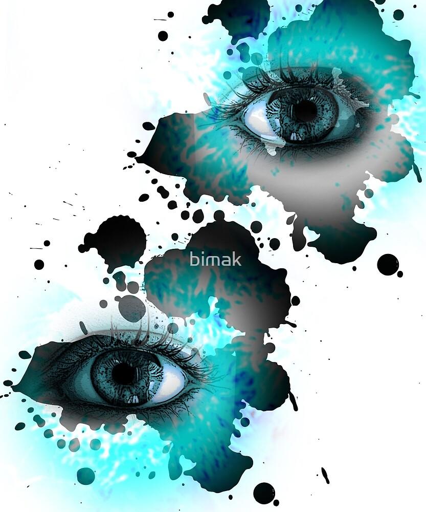 """""""Dalmatian Eyes"""" by bimak"""