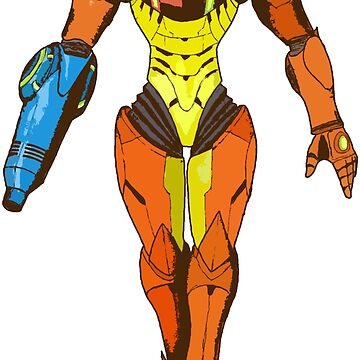 Bounty Hunter Varia Suit - Metroid by superotaku