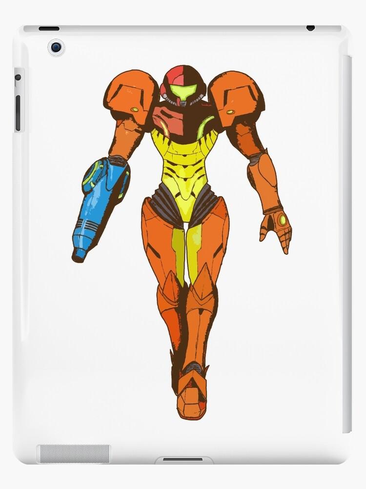 Bounty Hunter Varia Suit Metroid Ipad Case Skin By Superotaku
