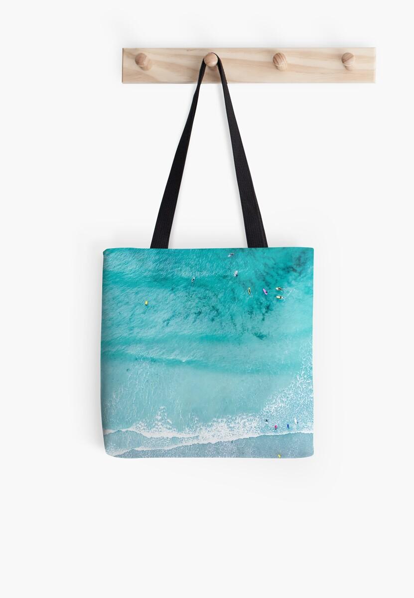 Bolsas de tela «Impresión de playa, Lámina de playa, Vida de playa ...