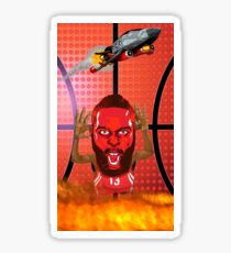 Rockets and Flames Sticker