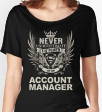ACCOUNT MANAGER Women's Relaxed Fit T-Shirt