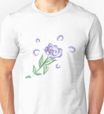 Watercolour Flower Unisex T-Shirt