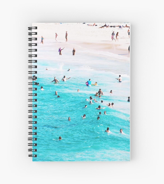Cuadernos de espiral «Impresión de playa, Lámina de playa, Vida de ...