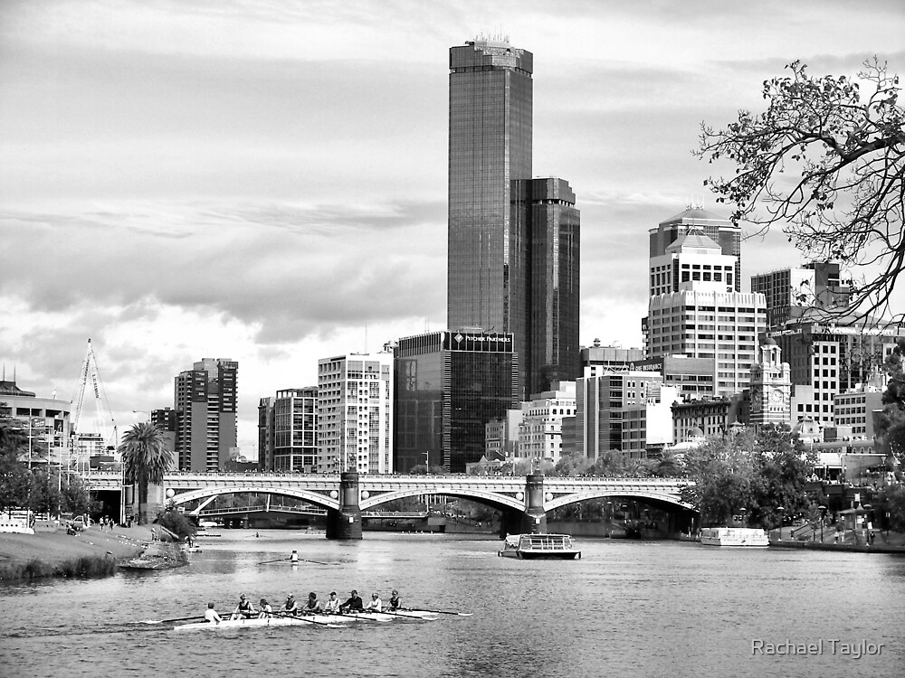 A day on the Yarra by Rachael Taylor