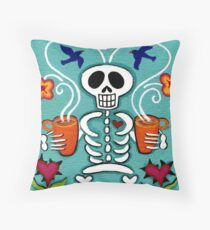 Coffee is Forever Throw Pillow