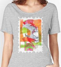 collage • drawing • colorfulart • fish Women's Relaxed Fit T-Shirt