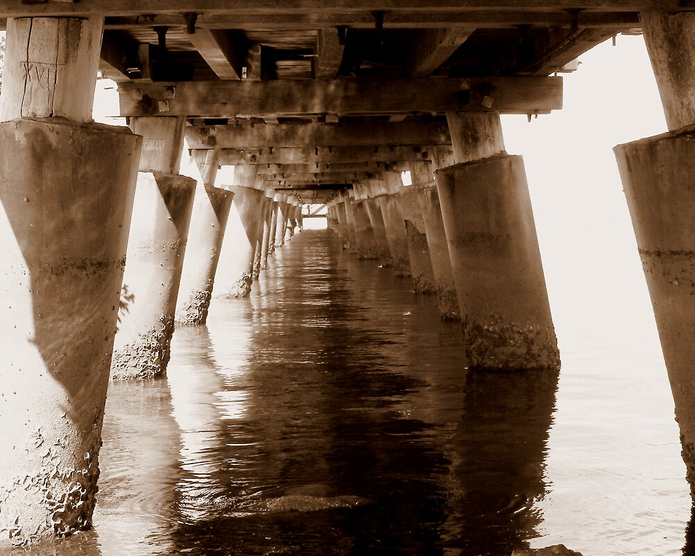 the jetty from underneath by lolly83