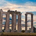 Olympia...Home Of the gods by Nancy Richard