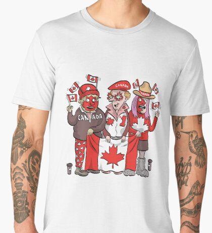 Canadians | By Graeme MacKay Men's Premium T-Shirt