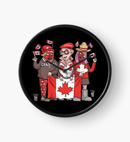 Canadians | By Graeme MacKay Clock