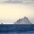 Skellig Islands - Sunset by Peter Sweeney