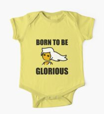 Steam PC Master Race Born to Be Glorious Girl Kids Clothes