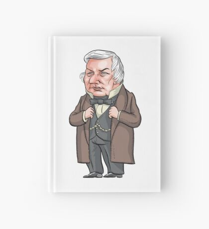 President Millard Fillmore Hardcover Journal