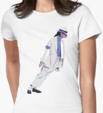 Michael Jackson Women's Fitted T-Shirt