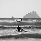 St. Finian's Bay - 'Silver Surfers' by Peter Sweeney