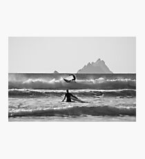 St. Finian's Bay - 'Silver Surfers' Photographic Print