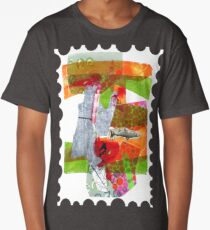 play • collage • drawing • climate • fish Long T-Shirt