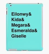 Second Tier Princesses iPad Case/Skin