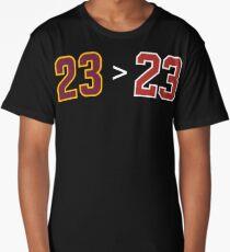 James over Jordan - 23 > 23 Long T-Shirt