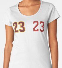 James over Jordan - 23 > 23 Women's Premium T-Shirt