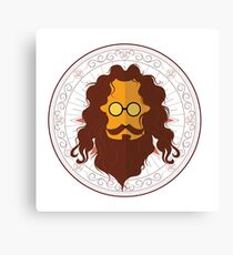 Sadhu in a different look Canvas Print