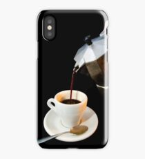 Fresh coffee for one iPhone Case/Skin